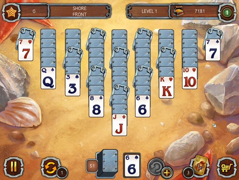 Solitaire Legend Of The Pirates Teljes Verzi 243 Board
